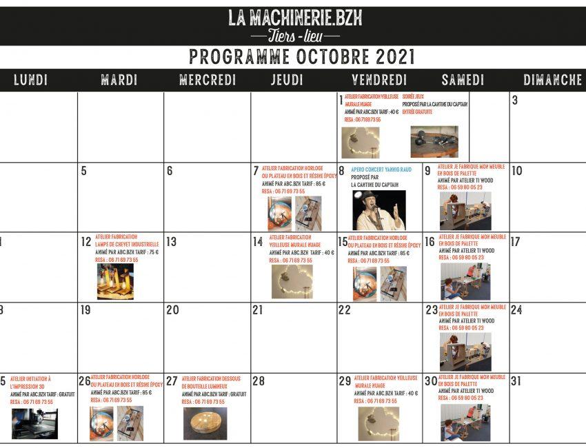 Programme Octobre 2